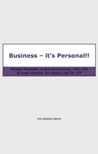 Business - It's personal
